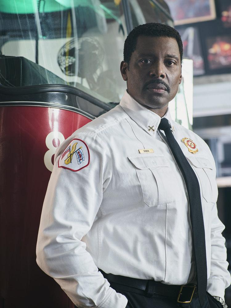CHICAGO FIRE -- Season: 6 -- Pictured: Eamonn Walker as Wallace Boden -- (Photo by: John Tsiavis/NBC)