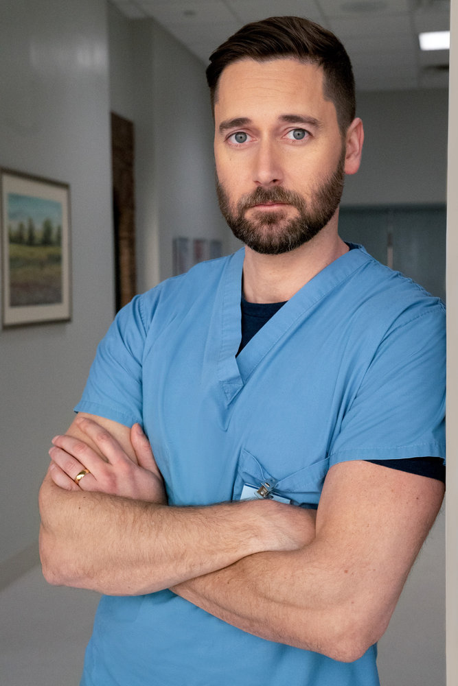 NEW AMSTERDAM -- Season:3 -- Pictured: Ryan Eggold as Dr. Max Goodwin -- (Photo by: Virginia Sherwood/NBC)